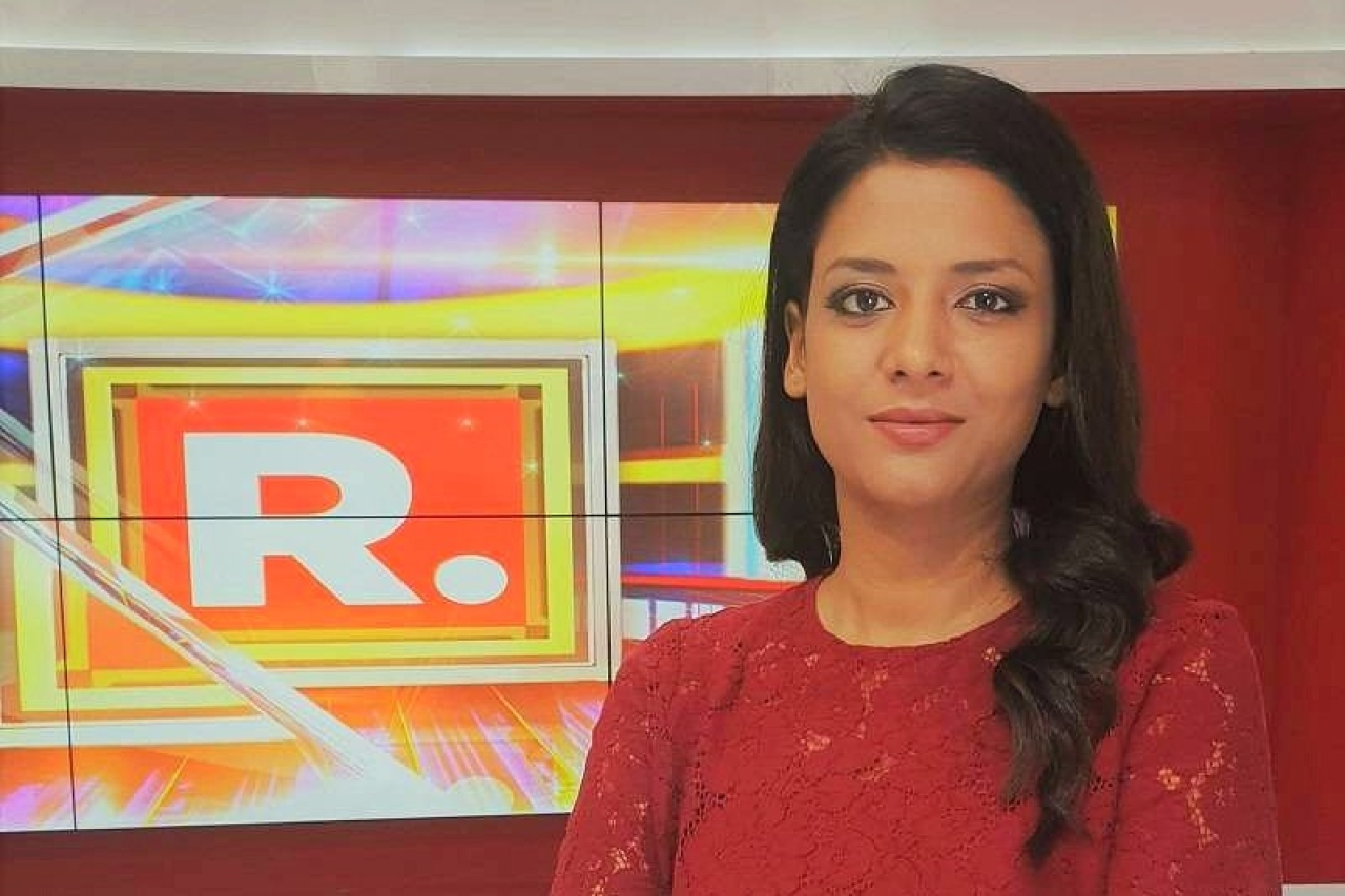 Republic TV journalist  Shivani Gupta was let down by her own fraternity members.