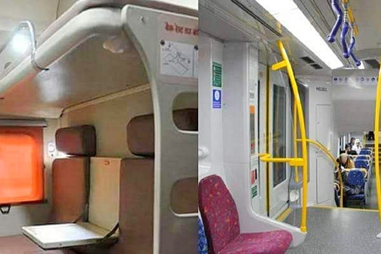 TheScrolllab.com - trending/India's First Engineless Train