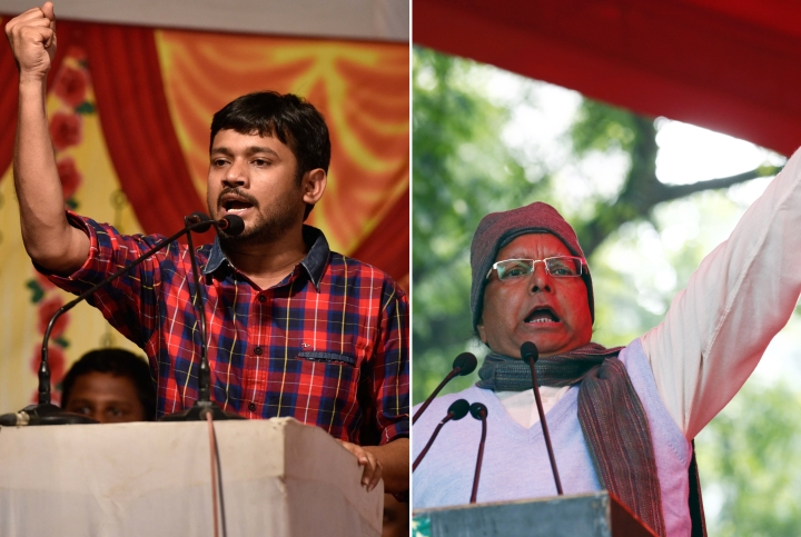 With Lalu Yadav's Support, Kanhaiya Kumar Enters Electoral Fray As Mahagathbandhan Candidate From Begusarai