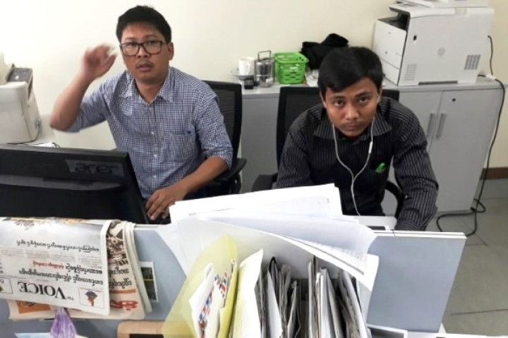 Two Reuters Journalists Jailed In Myanmar While Investigating Alleged Rohingya Killings