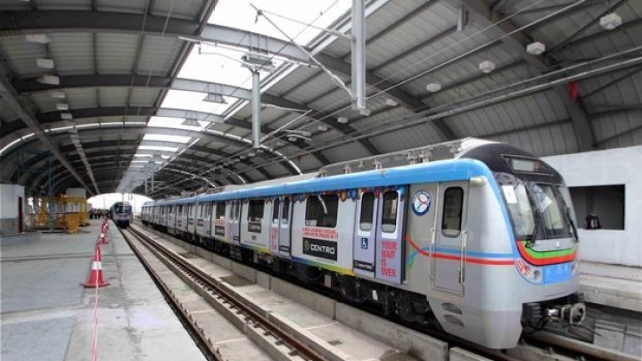 Hyderabad Metro's Historic Feat: First-Ever All Women Staff At Madhuranagar Station