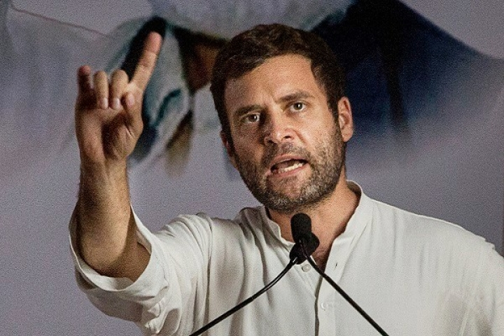 Watch: Having Termed Make In India A Failure, Rahul Gandhi Promises 'Make In Chitrakoot'