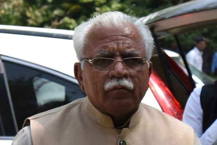 #Haryana2019: CM M L Khattar Leads As BJP Races Ahead To Half-Way Mark In Early Trends