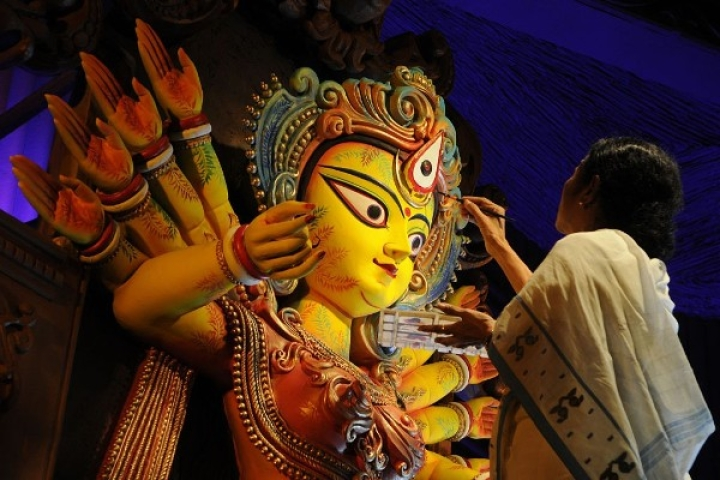 Accused Of Undermining Durga Puja For Minority Appeasement, Mamata Government 'Gifts' Rs 28 Crore  To Puja Pandals