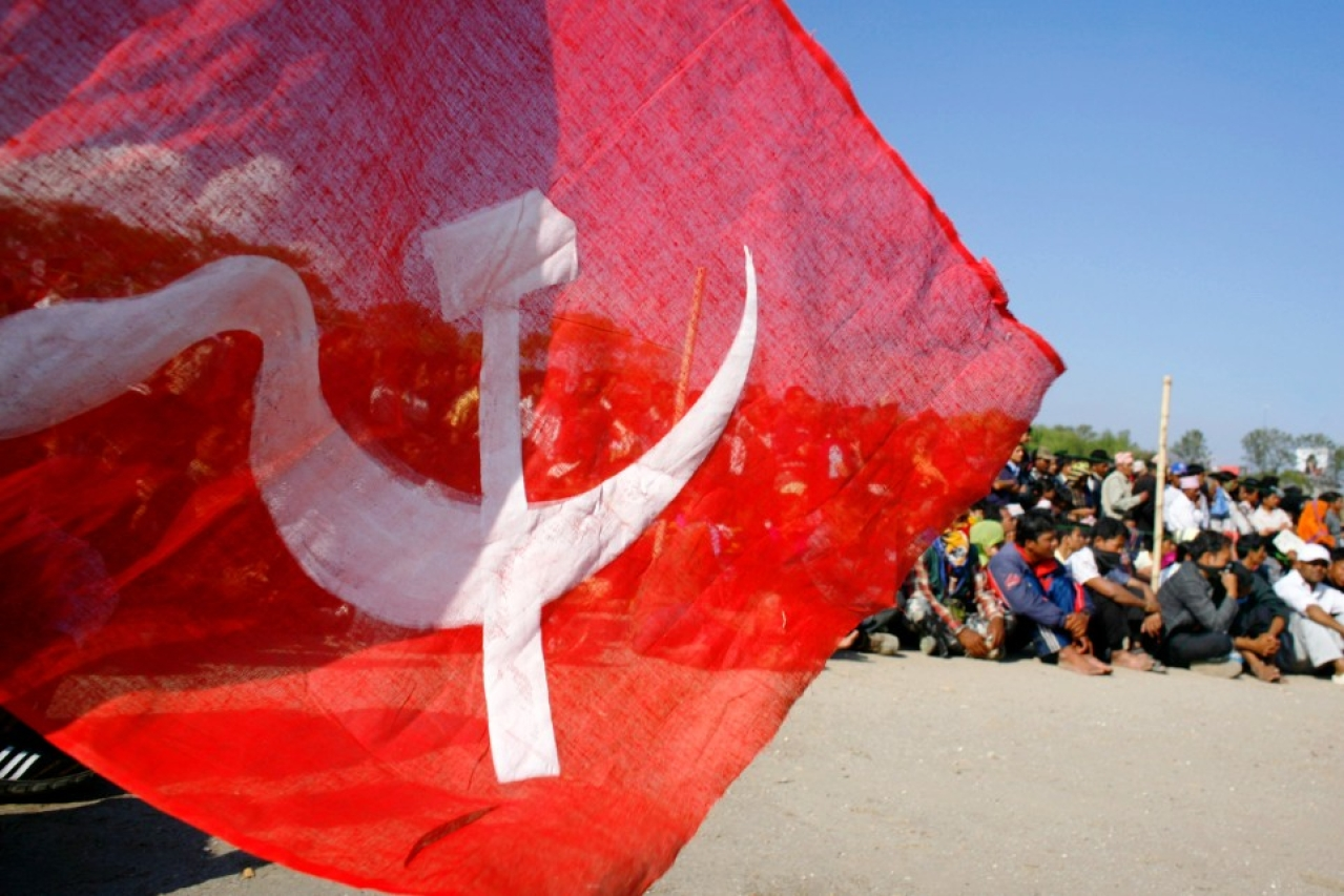 A communist flag. (representative image) (Paula Bronstein/Getty Images)