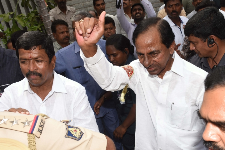 Watch: Telangana CM KCR Calls Congress President Rahul Gandhi The 'Biggest Buffoon' Of The Country