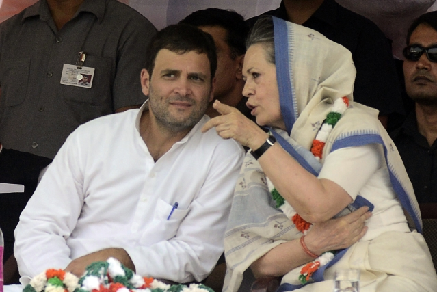 Will The Congress Step Out Of The Gandhi Family Gas Chamber?