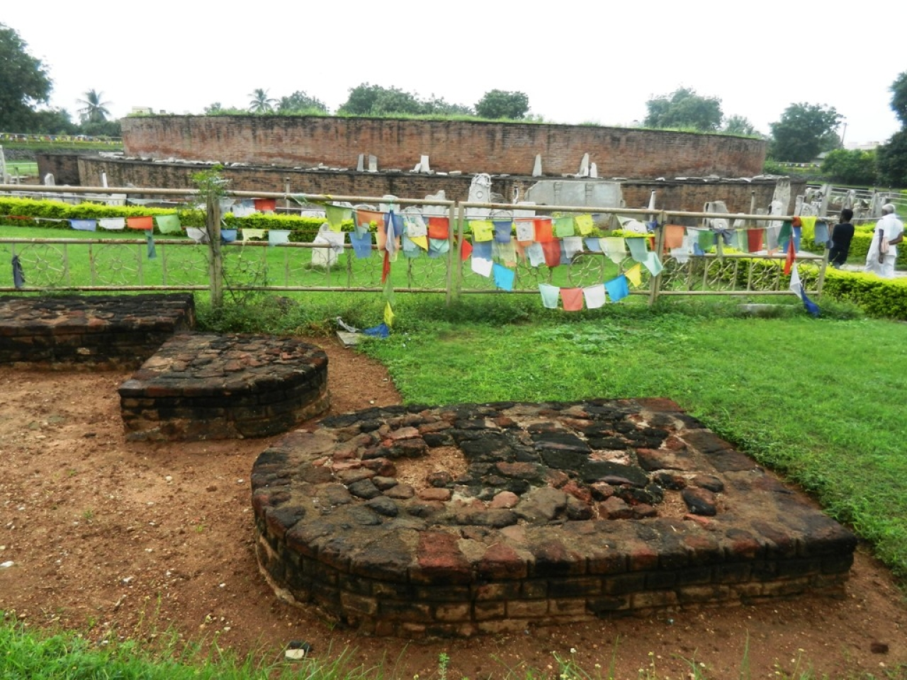 Remains of the Stupa