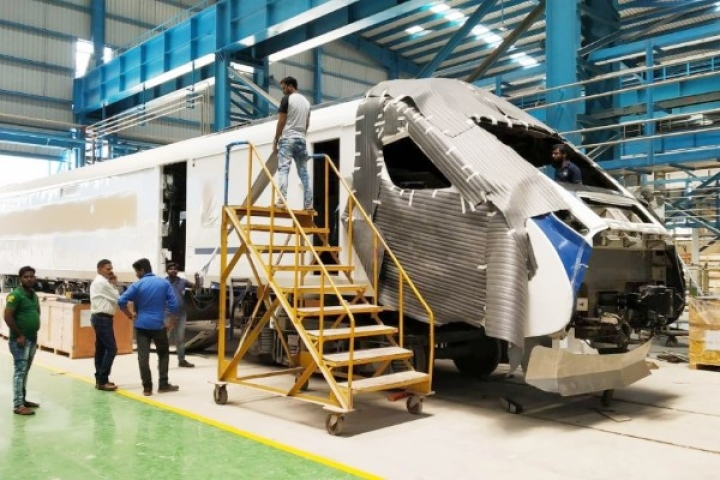 Watch: India's First Engine-Less Train Getting Ready At The Integral Coach Factory In Chennai