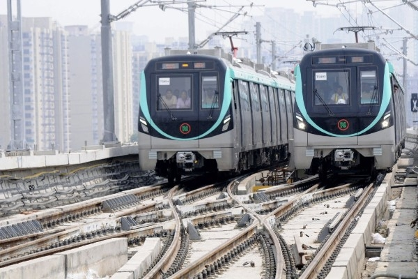Big Relief For Noida: Metro's Aqua Line To Be Functional By November