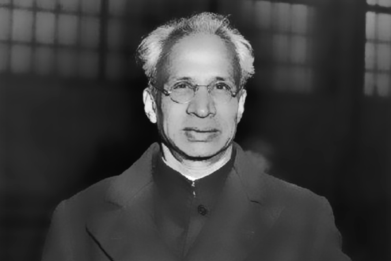 First vice president and second president of India Sarvepalli Radhakrishnan, whose birthday – 5 September – is celebrated as Teachers' Day.