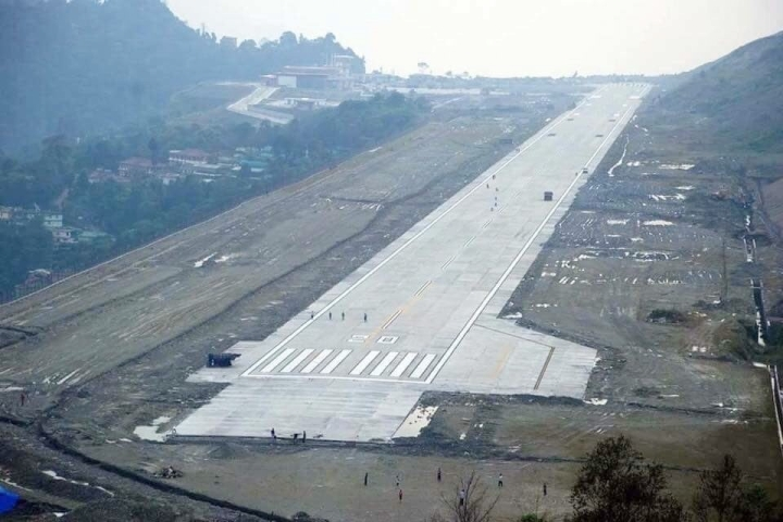The Wait Is Over: First Commercial Flight From Sikkim's Pakyong Airport To Guwahati Begins Operation