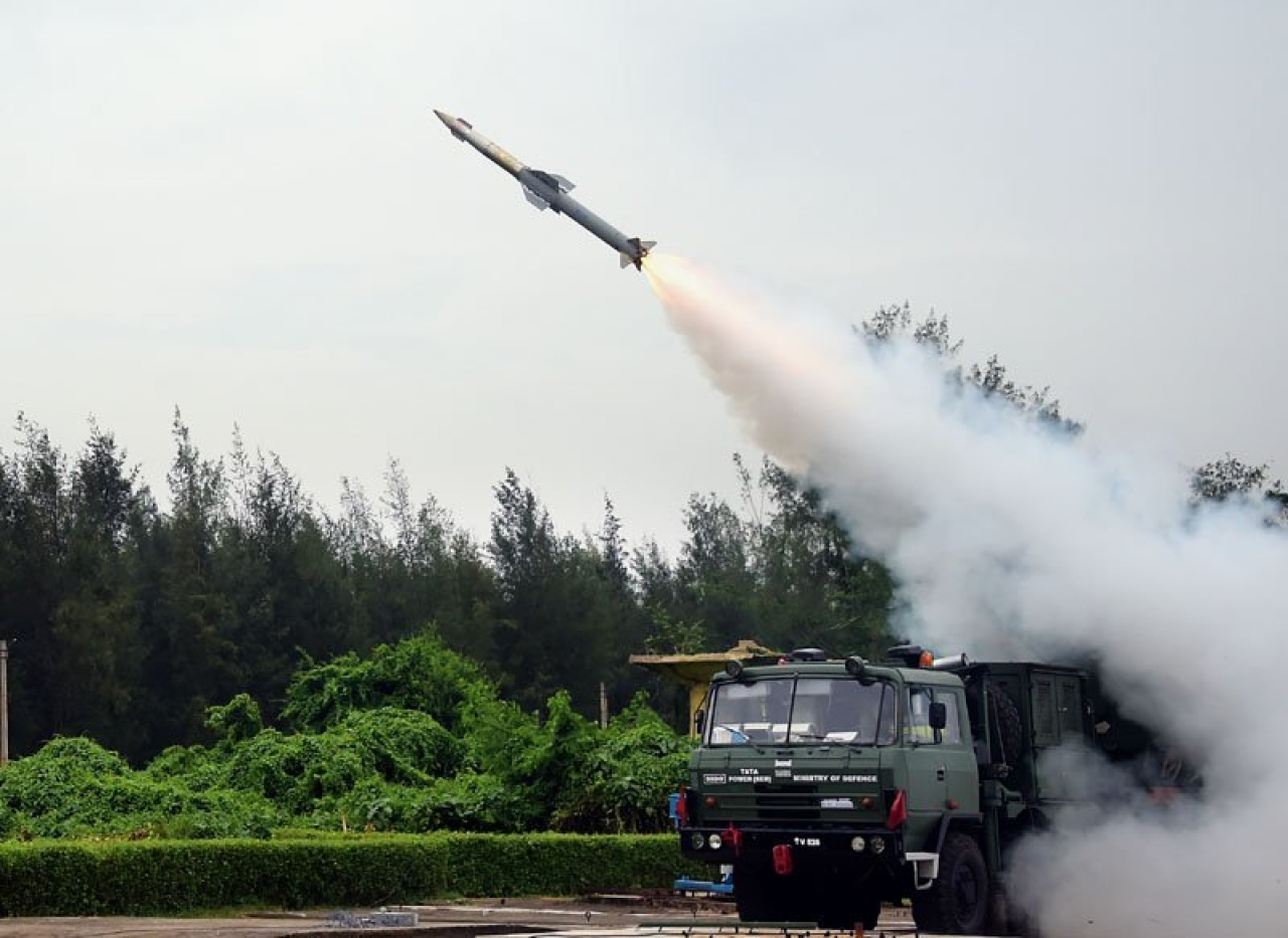 DRDO Test-Fires Multi-Role Quick Reaction SAM Missile Off Odisha Coast