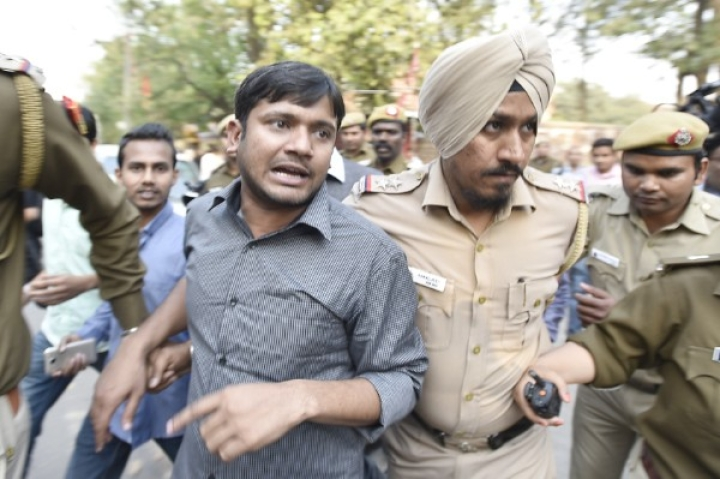 Kanhaiya Kumar And His Goons Go On A Rampage Inside AIIMS Patna, Doctor  Withdraws Stir After FIR