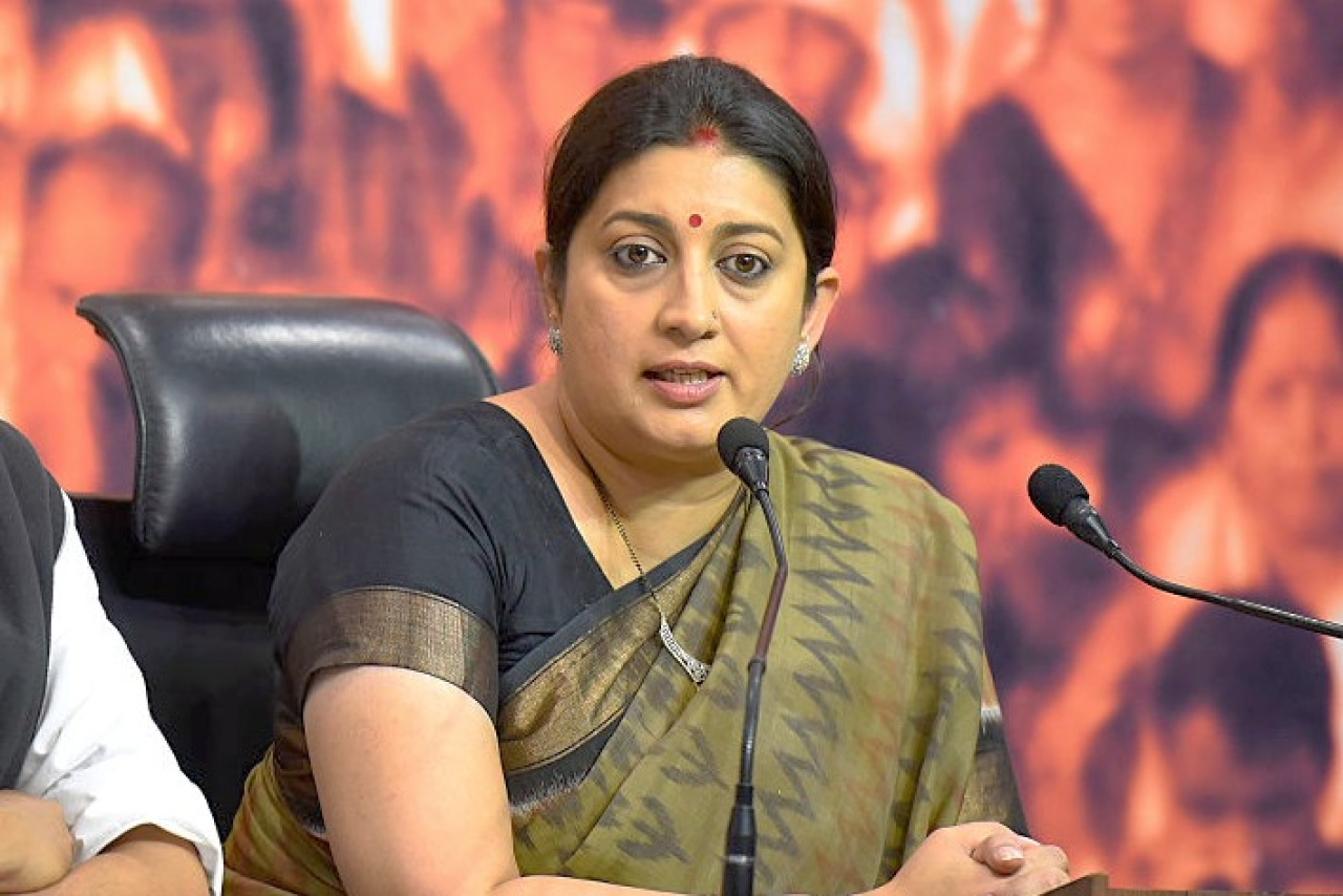 'Congress Not Fighting On All Seats In UP Sign Of Accepting Defeat': Smriti Irani Appeals Amethi To Vote For BJP