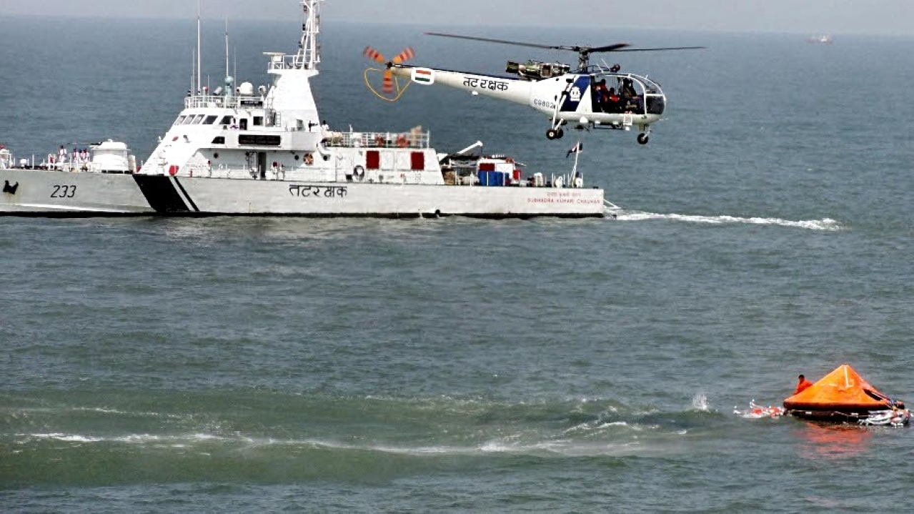 Indian Coast Guard's Massive Haul At Sea: Myanmar Ship With 1,160 Kg Drug Consignment Worth Rs 300 Crore Captured