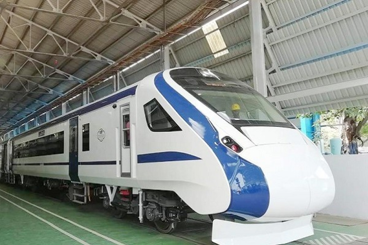 First Look At 'Train 18': The Indigenously Developed Train All Set To Replace Shatabdis