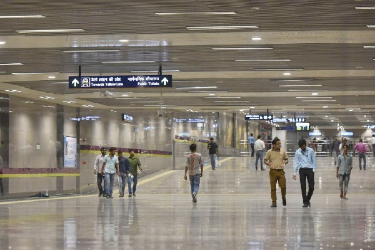 How Clean Is Your Station? Here Are The Delhi Metro Stations Judged The Cleanest