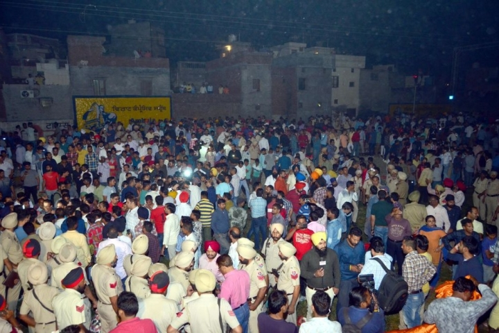 61 Dead, 72 Seriously Injured in Amritsar After Dussehra Crowd Gets Run Over By Train