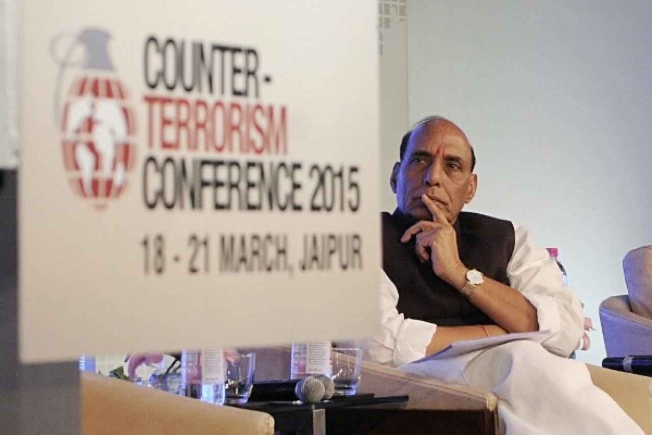 Union Home Minister Rajnath Singh  (Sonu Mehta/Hindustan Times via Getty Images)