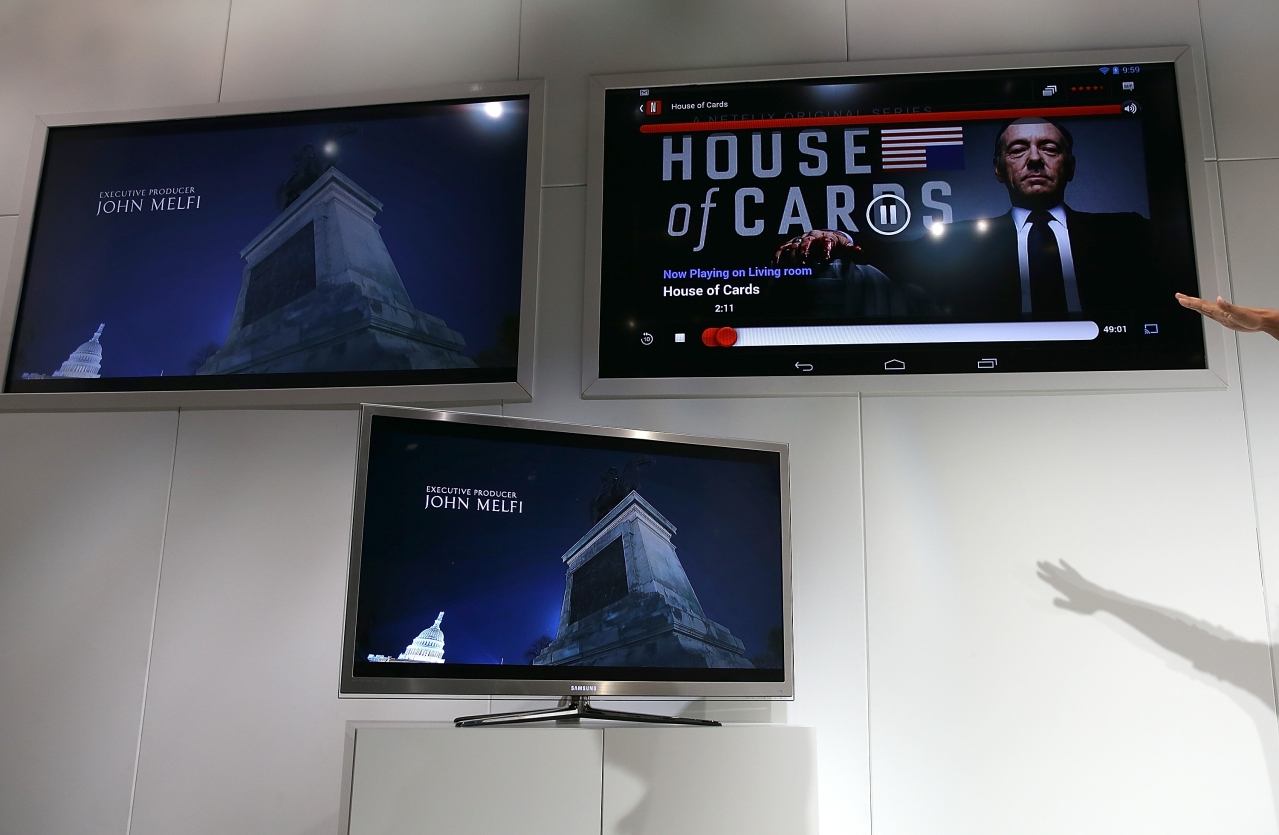 The Netflix show House of Cards (Justin Sullivan/Getty Images)