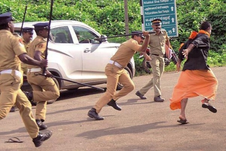 'Devotee Hunt' By Kerala Communist Government Continues; 3,345 Ayyappa Worshippers Arrested