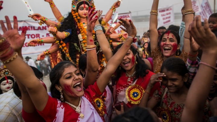 Stree-Shakti In Ranchi: 12 Years Of Breaking Stereotypes, All-Woman-Group Organises Durga Puja Pandals