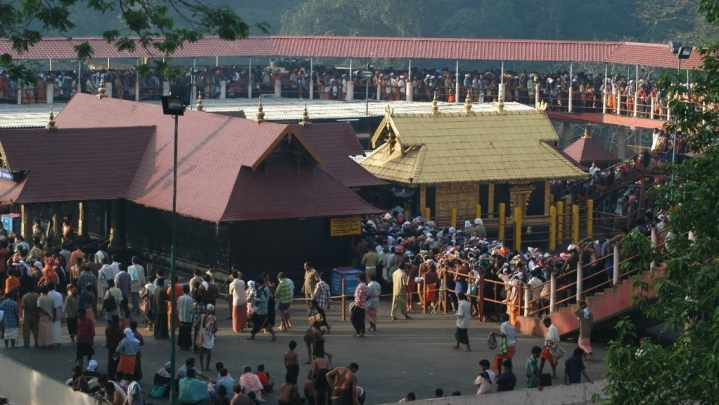 Devotees Witness 'Makarajyoti' At Sabarimala; Footfalls Moderate Though