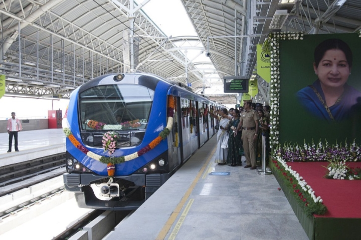 Chennai Metro Daily Ridership Zooms To Over 1 Lakh Per Day After Inauguration Of Washermanpet-Airport Line