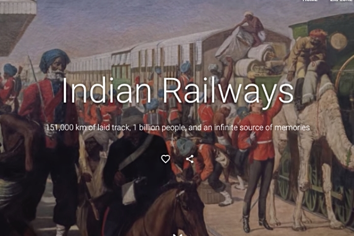 'Indian Railways — The Lifeline Of A Nation': Google Chronicles The Journey Of The Over 150 Year-Old Giant