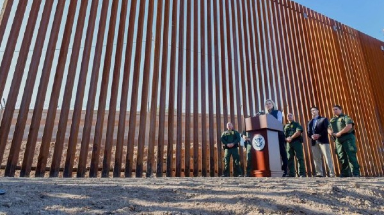 Migrants Out, Wall In: First Section Of Donald Trump's 'Great Big Beautiful' US-Mexico Barrier Unveiled