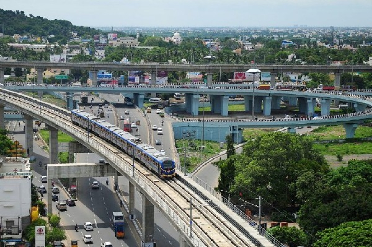 Chennai Metro Cares: Builds Subway Between Anna Nagar East And Anna Tower Station