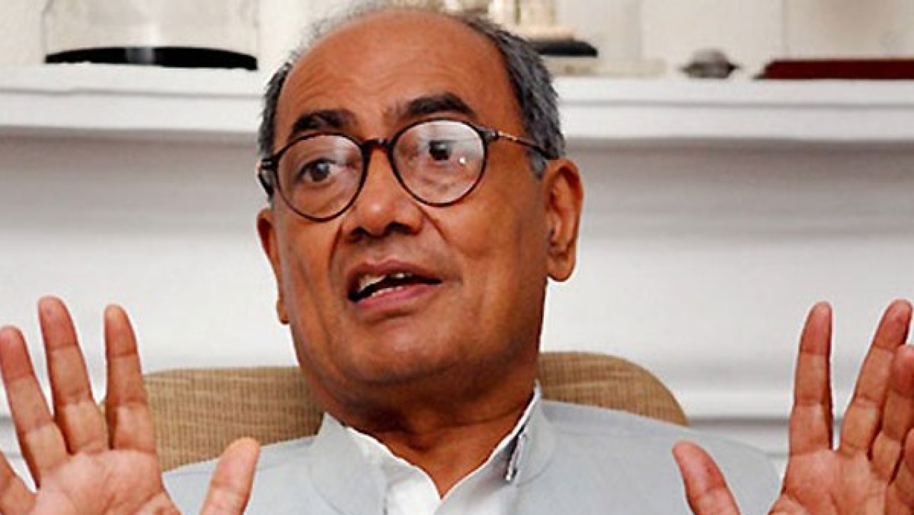 Youth Invited On Stage By Digvijaya Singh Praises PM Modi For Surgical Strike Against Terrorists