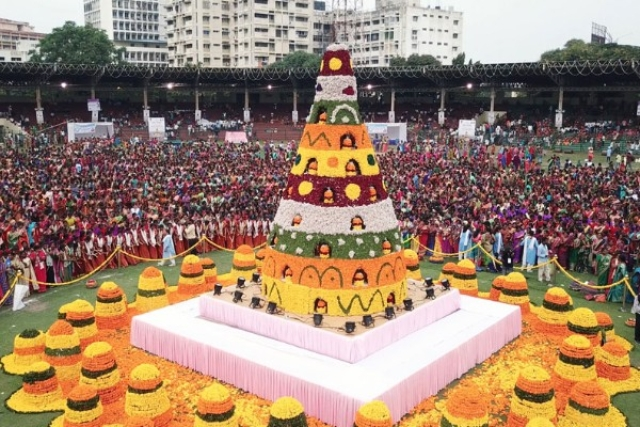 Bathukamma: When Telangana Transforms Into A Valley Of Flowers