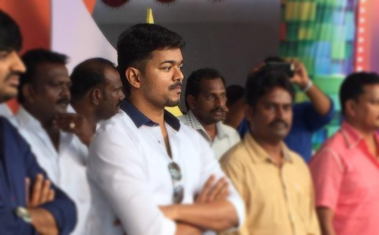 From Reel Sarkar To Real Sarkar? Tamil Actor Joseph Vijay Hints At Political Plunge During Sarkar Movie Event