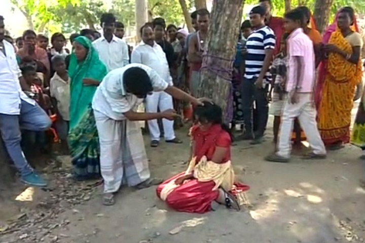 Bihar: Muslim Girl Tied To A Tree And Thrashed By Family For Loving Hindu Boy