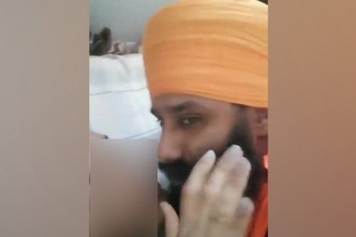 Video Of UK Based Pro-Khalistan Leader 'Smooching' A Transsexual Rakes Up Controversy