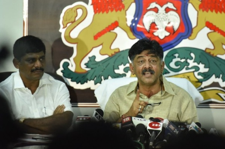 Lingayat Seers, Upset Over Congress' 'Divide And Fool' Policy, Demand The Sacking Of Minister DK Shivakumar