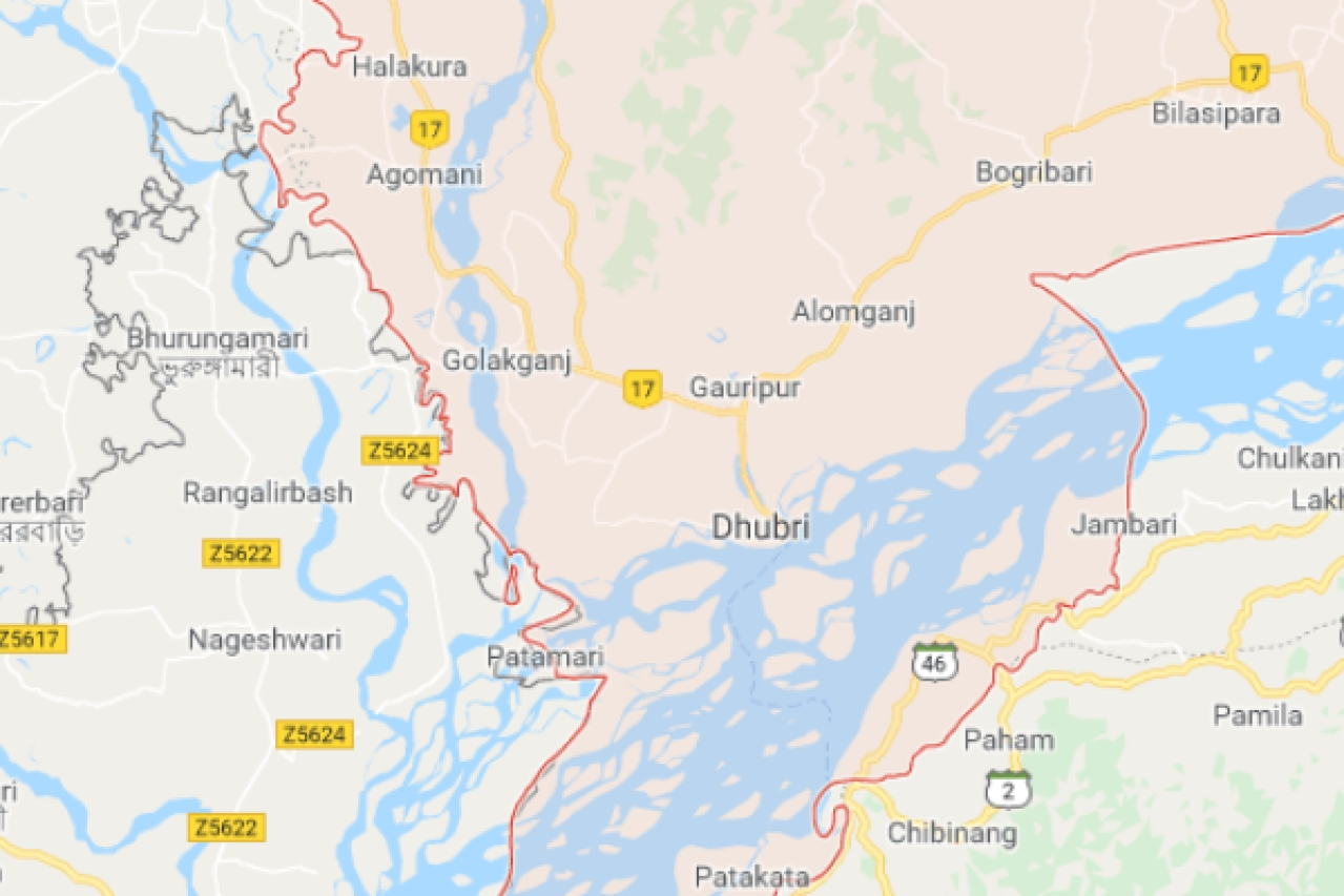 Ghoshpara is situated a few kilometres away from Dhubri town, Assam.