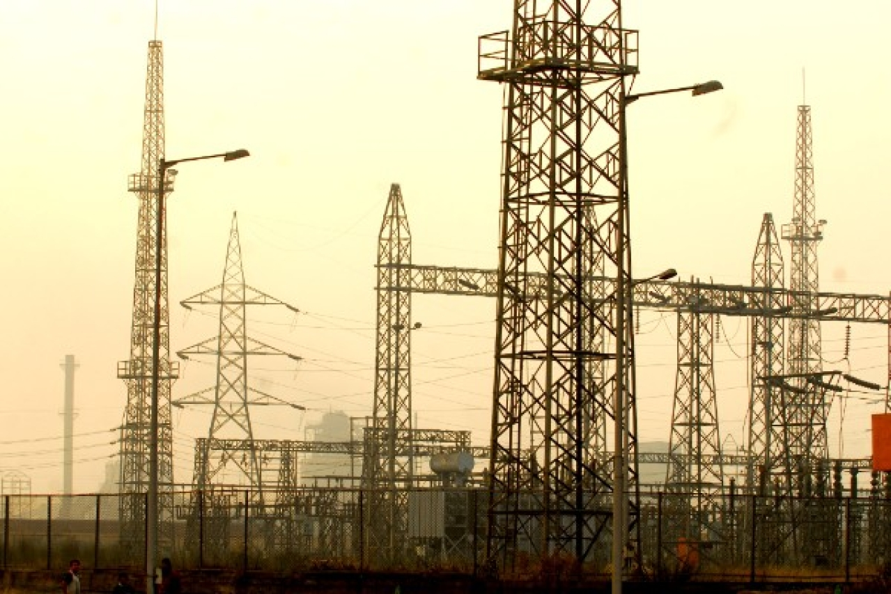 Power grid in India (Indranil Bhoumik/Mint via Getty Images)