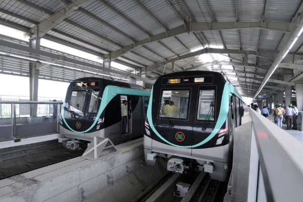 Noida Metro's Soon-To-Be-Operational Aqua Line Will Be Powered By Solar Energy