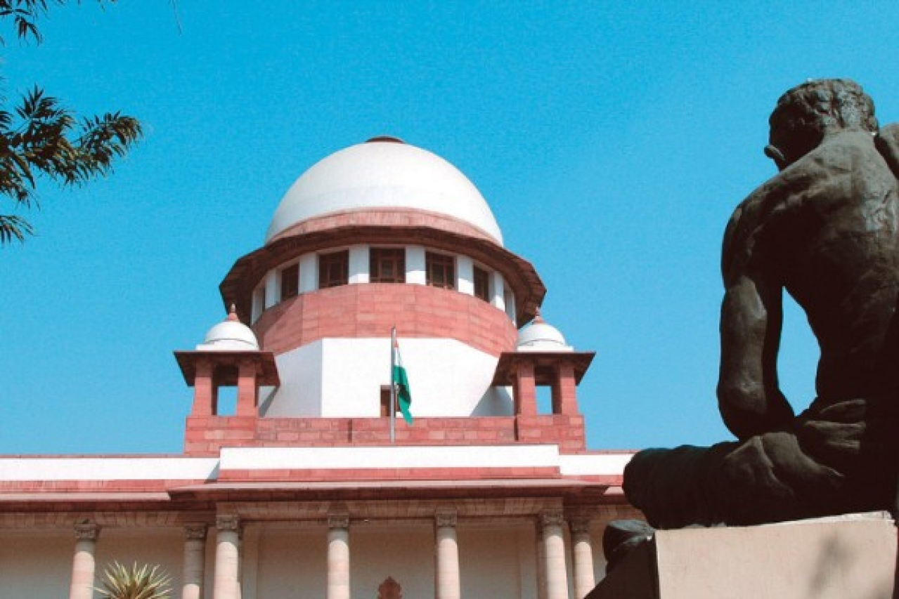 Who, if anyone, is accountable for the massive costs imposed by the judiciary? (Narendra Bisht/The India Today Group/Getty Images)