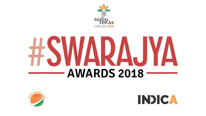 Swarajya Awards For 2018 Announced!