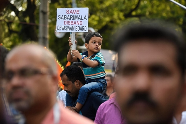 'Save Sabarimala' Protests To Hurt Kerala's Revenues? Temple Hundis Filled With Inscriptions Instead Of Money