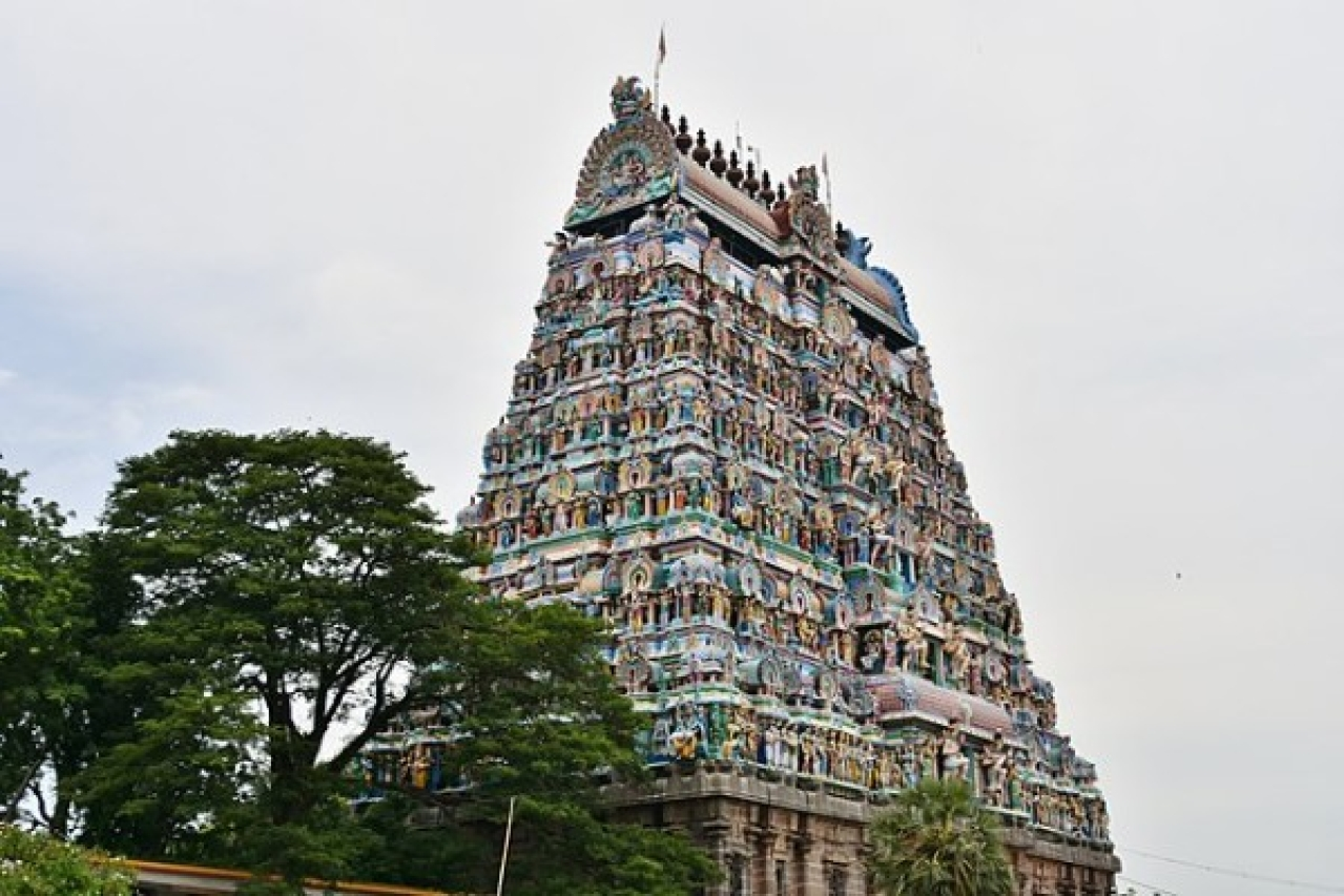 Representational image: A prominent temple in Tamil Nadu (Richard Mortel/Wikimedia Commons)