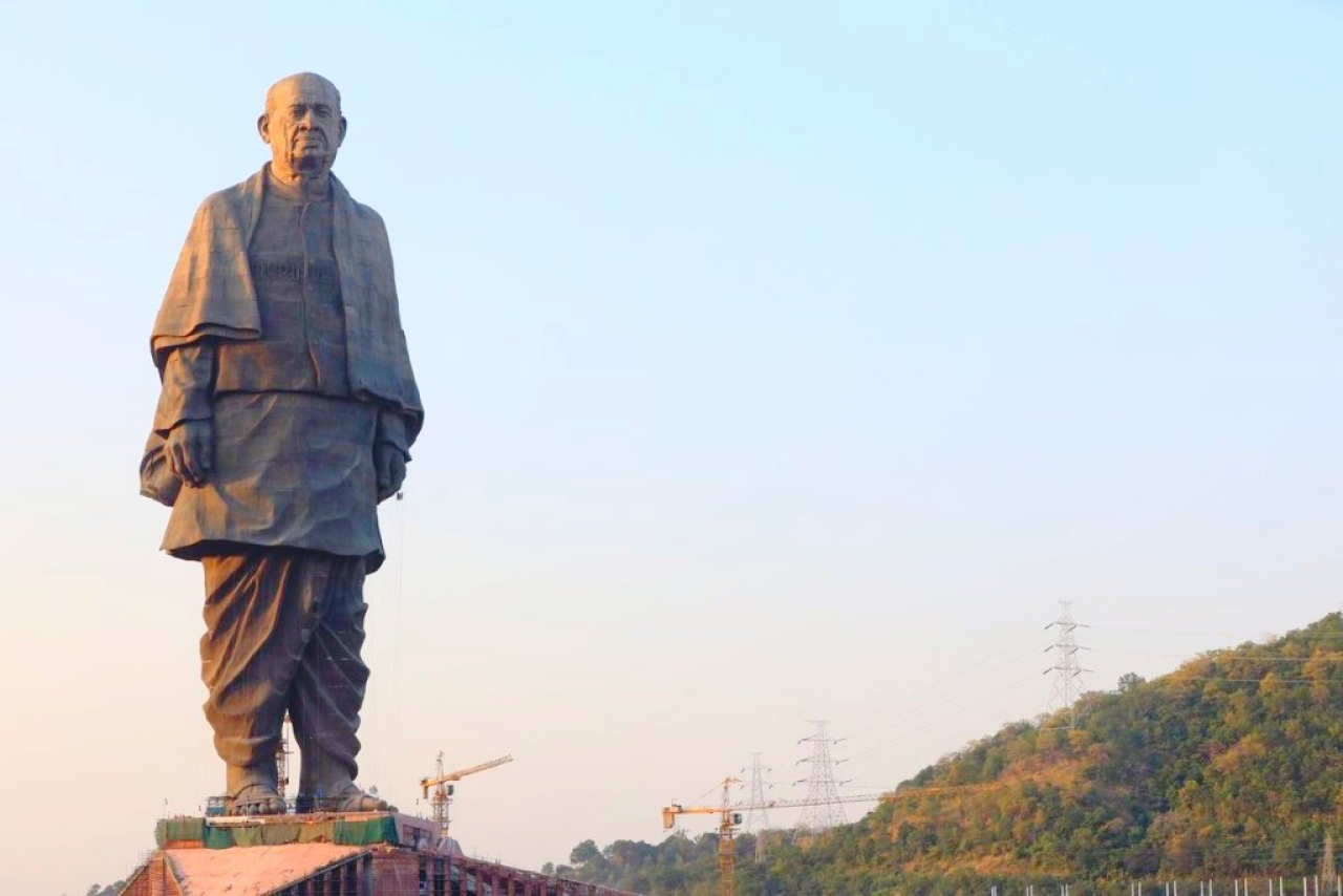 Statue of Unity. (PMO India/Twitter)