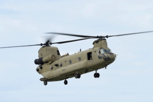 Indian Air Force' Featherweights Squadron To Officially Induct Four Boeing Chinook Helicopters On 25 March