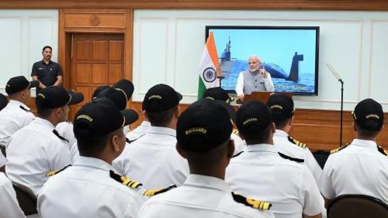Image result for India's nuclear submarine INS Arihant completes first 'deterrence patrol'