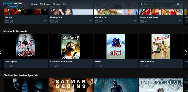 Amazon Prime Celebrates Karnataka Rajyotsava, Launches Kannada Movies Library To Increase Regional Offering