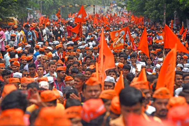 "Amidst Chants Of ""Chhatrapati Shivaji Maharaj Ki Jai!"", Maharastra Assembly Passes Bill For Maratha Reservation"